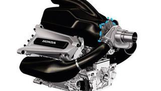 La prima immagine del motore Honda con cui tornerà in F.1 nel 2015 con la McLaren