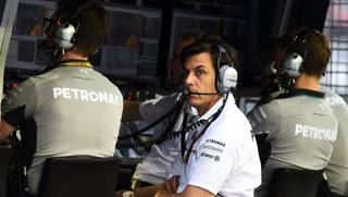 Toto Wolff, team principal Mercedes. Getty