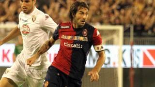 Daniele Conti, 35 anni, capitano del Cagliari. Ansa