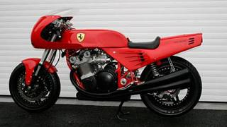 La moto Ferrari firmata David Kay, prodotta in un solo esemplare: fino a oggi è stata l'unica due ruote a portare il marchio della Casa di Maranello