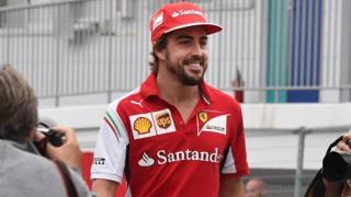 Fernando Alonso, 35 anni. Afp