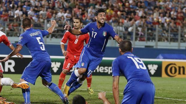 Graziano Pellè, 29 anni, in gol all'esordio. LaPresse