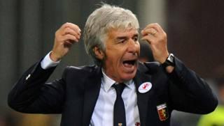 Gian Piero Gasperini, tecnico del Genoa. LaPresse