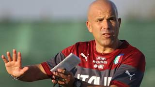 Gigi Di Biagio, c.t. dell'Italia Under 21. Getty