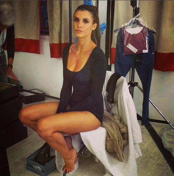 Elisabetta canalis backstage calendario max - 1 1