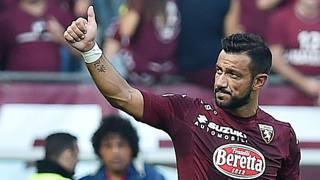 Fabio Quagliarella, attaccante del Torino. Ansa