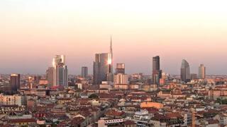 Una vista di Milano