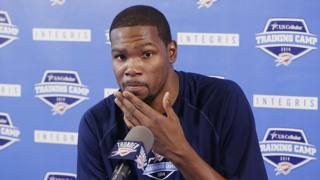 Kevin Durant, 26 anni, Mvp della regular season 2013/2014. Ap