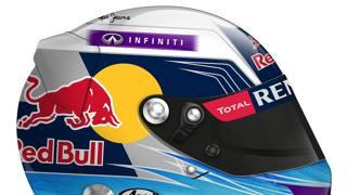Ricciardo, ad Abu Dhabi con grafica italiana