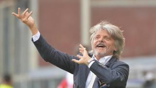 Massimo Ferrero, 63 anni, primo anno alla guida della Sampdoria. Ansa