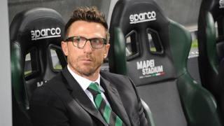 Eusebio Di Francesco, tecnico del Sassuolo. LaPresse