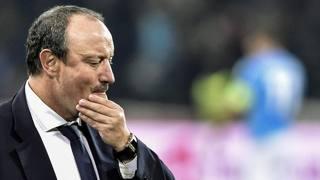 Rafa Benitez, tecnico del Napoli, dopo il k.o. con lo Young Boys.. Epa