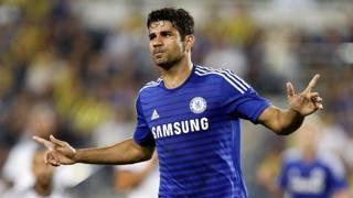 Diego Costa, 26 anni, punta centrale del Chelsea. Epa