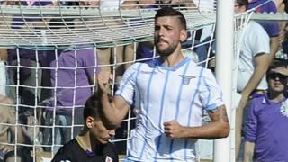 Filip Djordjevic, attaccante serbo 27enne, prima stagione alla Lazio. LaPresse