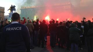Caos in centro a Milano, petardi da ultrà Saint Etienne