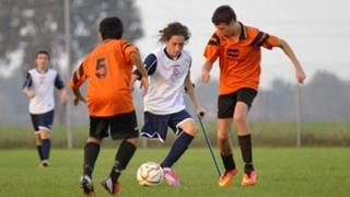 Campione senza una gamba: Francesco realizza il suo sogno