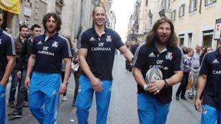 Azzurri a passeggio, incontrateli sul web. Bartoletti