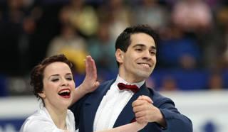 Anna Cappellini e Luca Lanotte ai Mondiali di Saitama. AFP