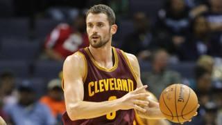 Kevin Love, 26 anni, prima stagione a Cleveland. Reuters