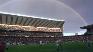 Lo stadio di Twickenham sarà il centro del mondo. Ap