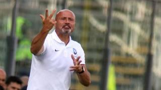 Il tecnico dell'Atalanta Stefano Colantuono (52). Fotogramma