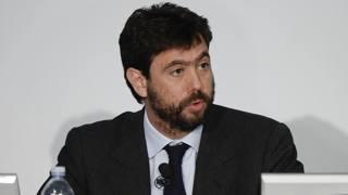Andrea Agnelli, 38 anni, presidente della Juve. LaPresse