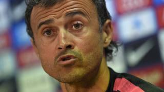 Luis Enrique, 44 anni. Afp