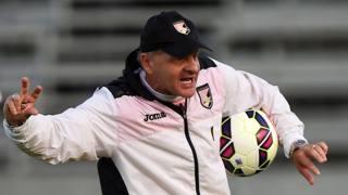 Giuseppe Iachini. 50 anni, tecnico del Palermo. Getty Images