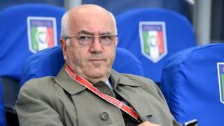 Carlo Tavecchio, presidente della Figc. Getty Images