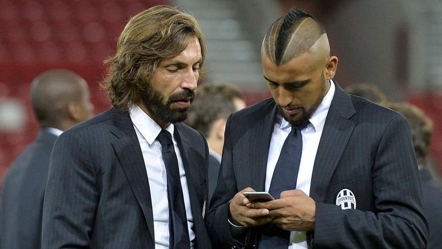 Ultime Notizie: Juve, Pirlo e Vidal in panca  Menez ancora fuori nel Milan