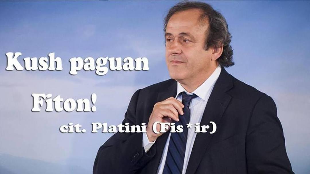 Quanto pagano? Vittoria la citazione di Platini è emblematica. Social