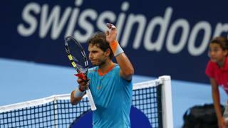 Rafael Nadal, 28 anni. Reuters