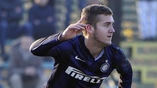 George Puscas, 18 anni, attaccante dell'Inter Primavera. Ipp
