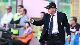 Beppe Iachini, tecnico del Palermo. LaPresse