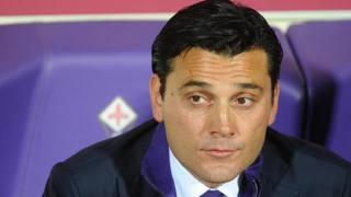Vincenzo Montella, tecnico della Fiorentina. Ansa