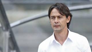 Filippo Inzaghi, 41 anni, tecnico del Milan. Lapresse