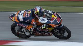 Jack Miller, secondo nel mondiale Moto3. Epa