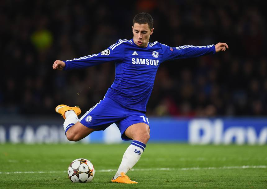 Il belga Eden Hazard, Chelsea. Getty