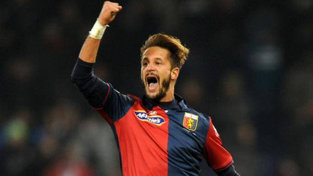 Luca Antonini, match winner. Ap