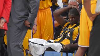 Lakers, Randle si rompe la tibia: stagione finita