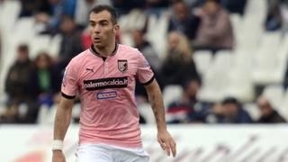 Enzo AMresca, centrocampista del Palermo. LaPresse