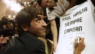 Madrid non ha dimenticato Raul. Reuters