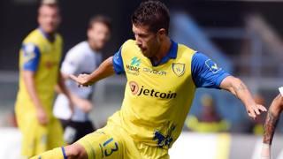 Mariano Izco, 31 anni, centrocampista del Chievo. Ansa