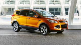 La Ford Kuga nella nuova livrea arancione