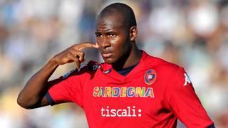 Victor Ibarbo, attaccante colombiano del Cagliari. LaPresse