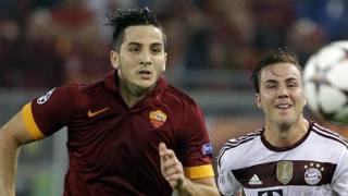 Kostas Manolas, 23 anni, difensore della Roma. Ap