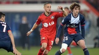 Adrien Rabiot, 19 anni, centrocampista francese del Psg. Ansa