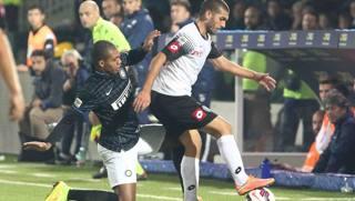 Guido Marilungo, attaccante del Cesena: fermo due mesi e mezzo. LaPresse