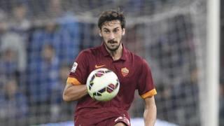 Davide Astori, prima stagione alla Roma. Ansa
