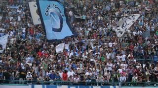 I tifosi del Napoli al San Paolo. Ansa